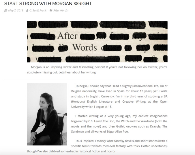 Start Strong with Morgan Wright