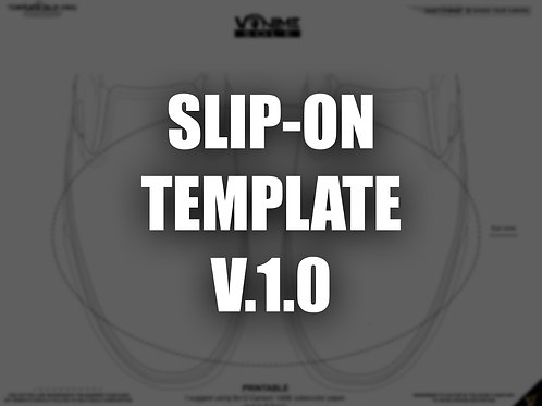SLIP-ON TEMPLATE (PNG/PRINTABLE) V.1.0