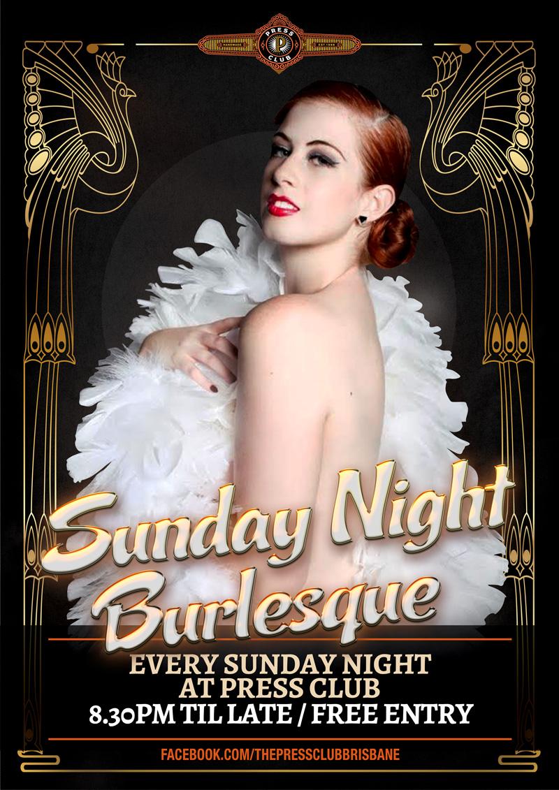Sunday Night Burlesque