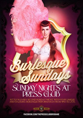 Burlesque Sundays