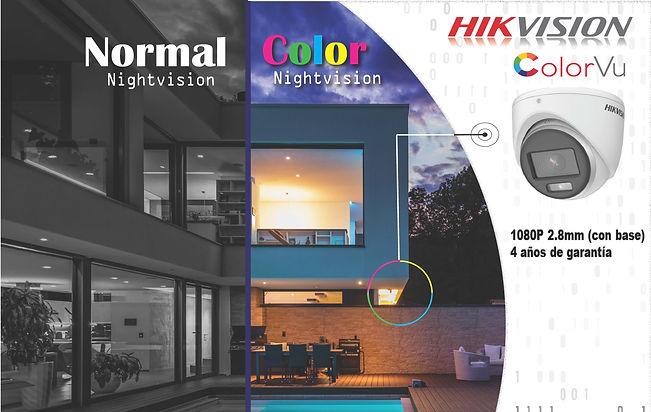 4 Camaras - Oferta Colorvision -  Final