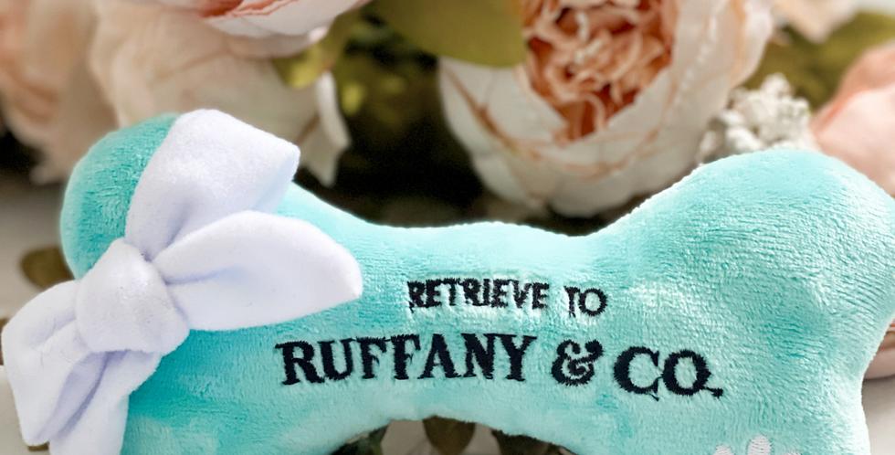 The Ruffany & Co. Plush Bone
