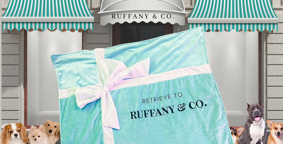 The Ruffany & Co.  Plush Luxe Blanket