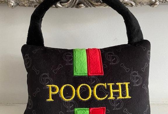 Poochi Handbag Parody Plush Dog Toy