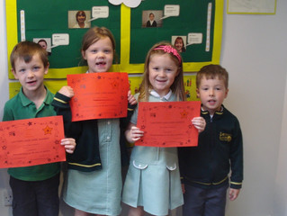 Key Stage 1 CARE Certificates Summer 1
