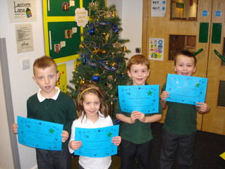 Our first CARE certificates