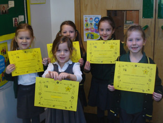 KS1 CARE Certificates