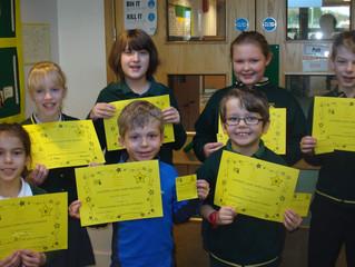 KS2 CARE certificates