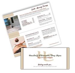 Single-fold Brochure