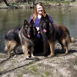 Morgan Charpentier, Canine Keeper