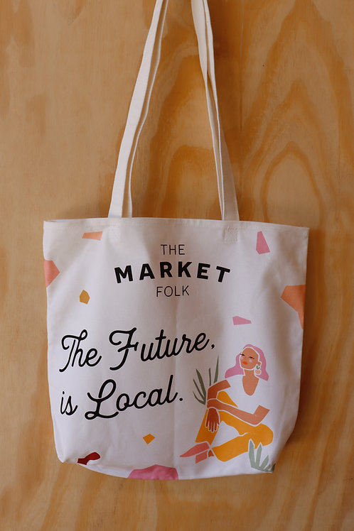 Market Tote - The Future is Local