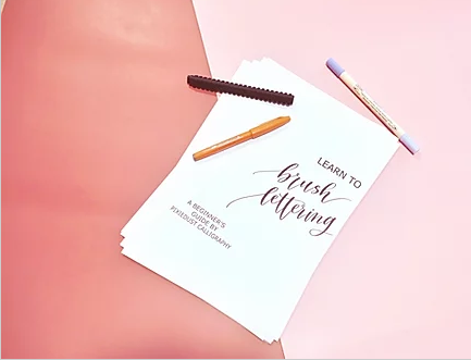 Get to know   Pixiedust Calligraphy