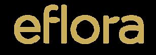 Primary Eflora Logo  GoldonTransparent R