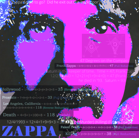 Frank Zappa and Gematria 2020
