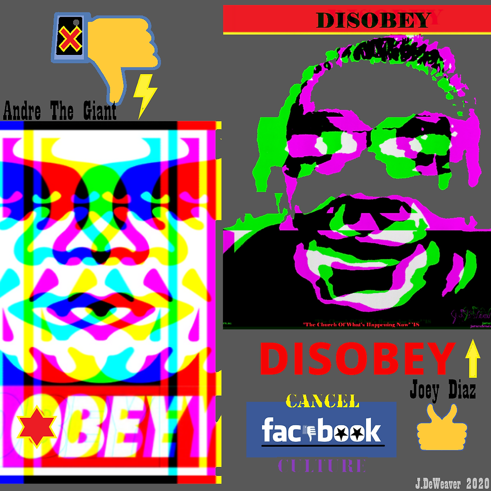 OBEY DISOBEY 2020