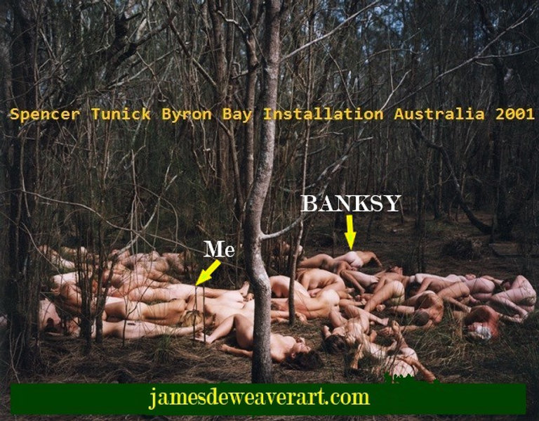 Spencer Tunick Byron Bay Installation wi