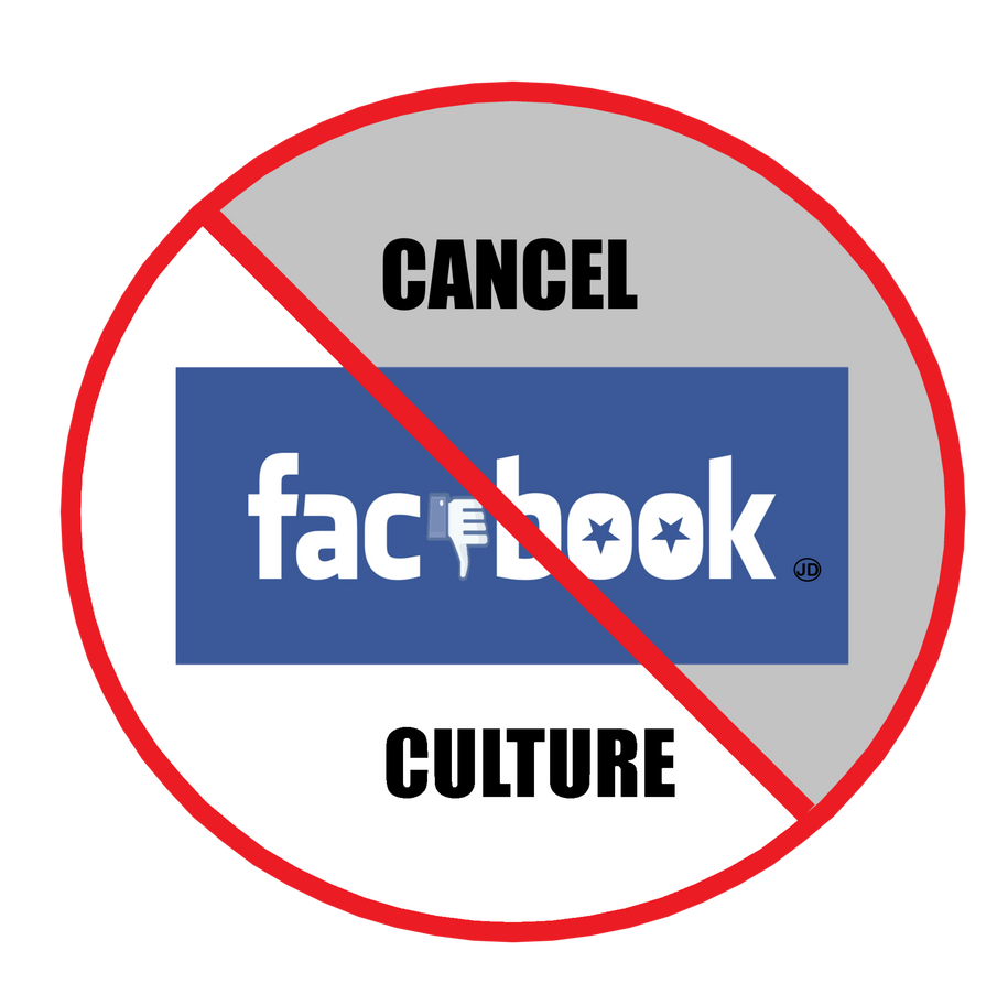 Cancel FACEBOOK Culture 2020 was created due to them deleting my first and only ever FACEBOOK page which I created August 21, 2020 which was deleted nine hours later! CANCEL CULTURE of THE WORST kind.