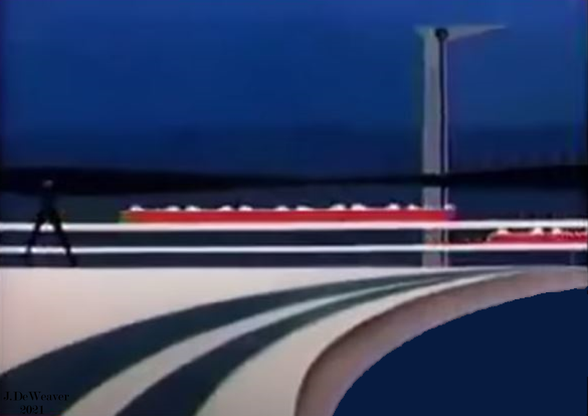 Retro Futurism Sea and Rail 2021