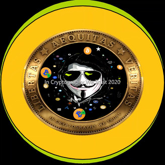 """""""In Cryptography We Trust"""" NFT by James DeWeaver 2020"""