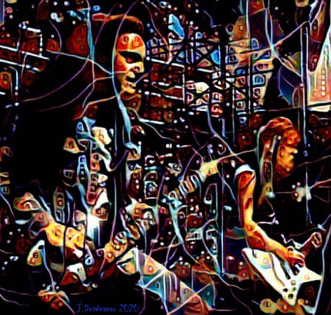 "Cliff Burton & James Hetfield Metallica ""Day on the Green"" '85"
