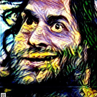 """Chris D'elia """"Return from a starry night"""" by James DeWeaver 2021"""