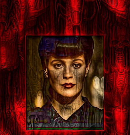 Rachael in Red - The most Beautiful and Human of the Replicants from Blade Runner 2020