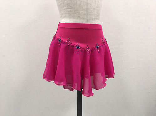 ローズピンク・デコレーションスカート