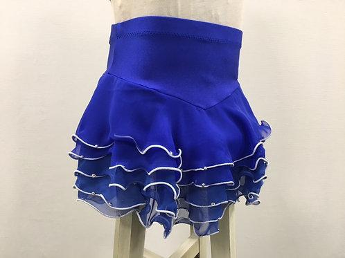 ロイヤルブルー・デコレーションスカート