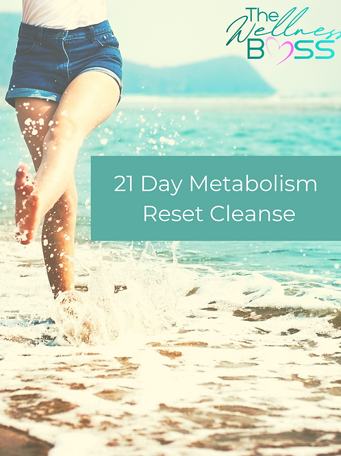 21 Day Metabolism Reset Cleanse