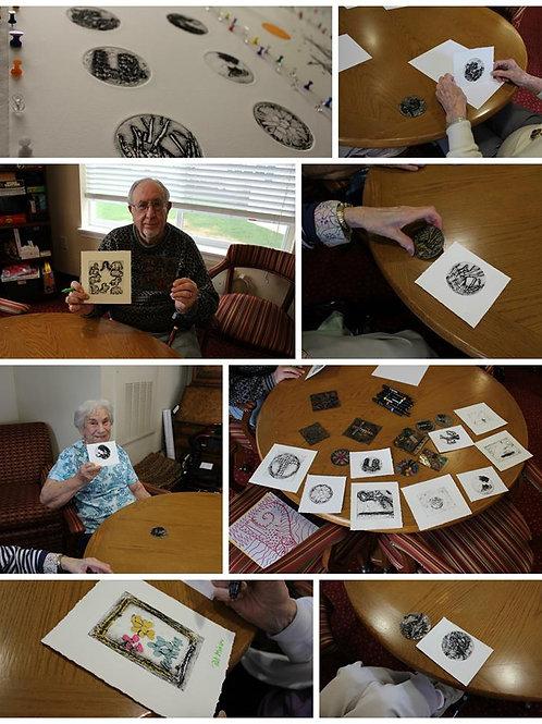 On the Go Senior Printmaking