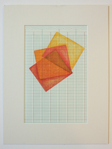 Drawings on Ledger, Print #1 - by Valeri