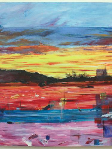 Mohawk Skies - by Sara Thompson
