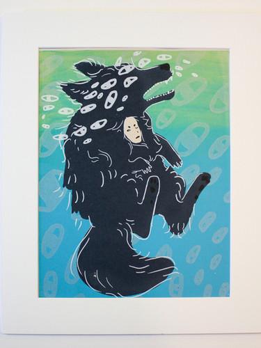 Wolf Who Cried Boy - by Marleana Michl.J
