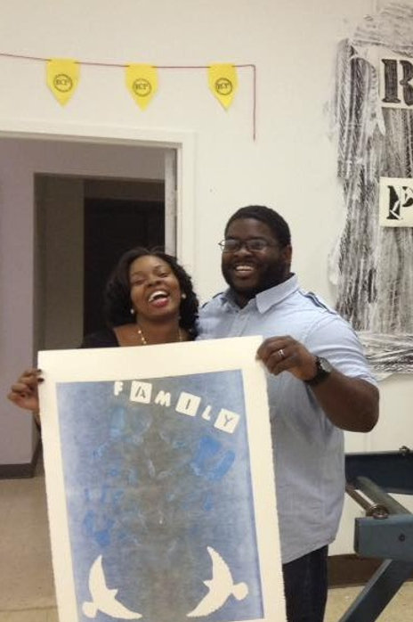 Couples Printmaking Night