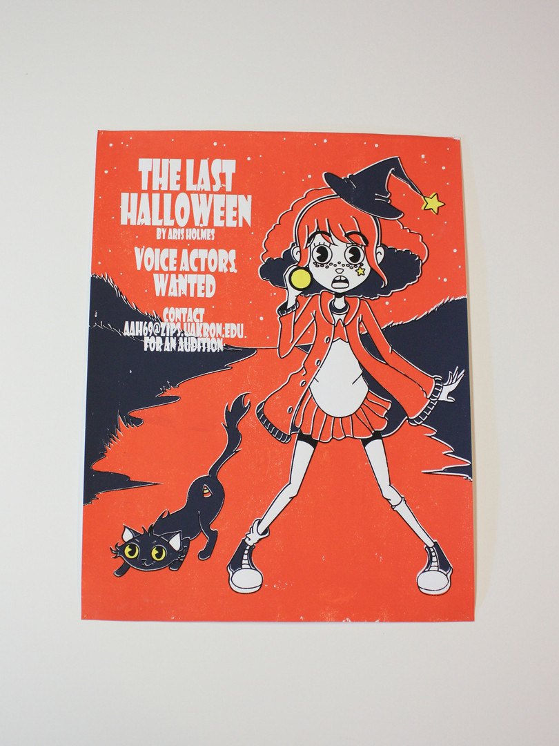 Poster for Halloween - by Aris Holmes