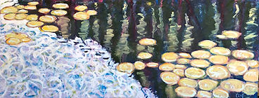 Bromley_Kimble_Water Lilies Across the P