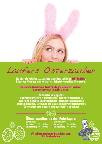 Laufers Osteröffnungszeiten 2019
