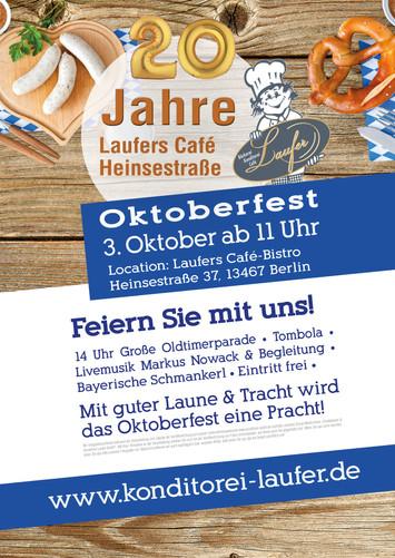 20. Jubiläum - Laufers Cafe Bistro