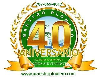 Maestro Plomero Nuevo Logo Dominic. (1cr