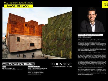 MASTERCLASS|Prof. Alejandro Bernabeu - Founder of Bernabeu Ingenieros