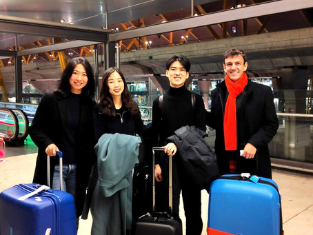 Students' Arrival & Settling in MADRID