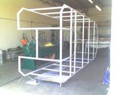 Jacuzzi frame