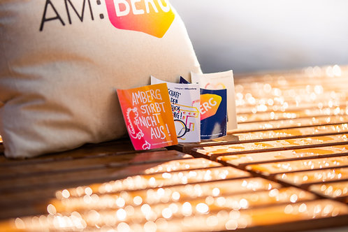 Einkaufsbeutel & Sticker-Set