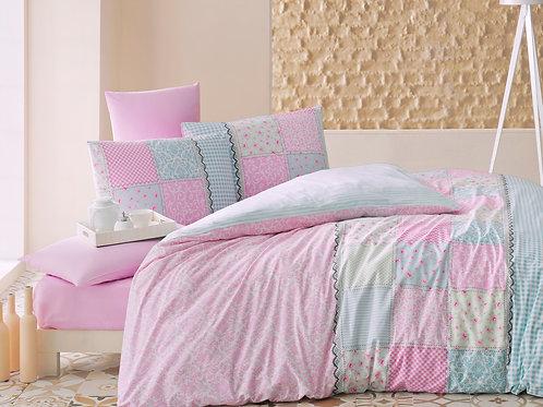 Elegante розовый, 1,5 сп стеганный