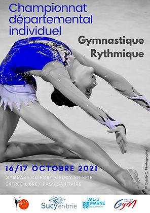 Programme du championnat départemental individuel de Sucy-en-Brie