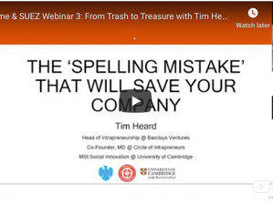 Webinar Series: From Trash to Treasure Part 3