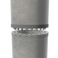 Emeca pile splices for concrete piles