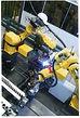 Robots welding Emeca splices