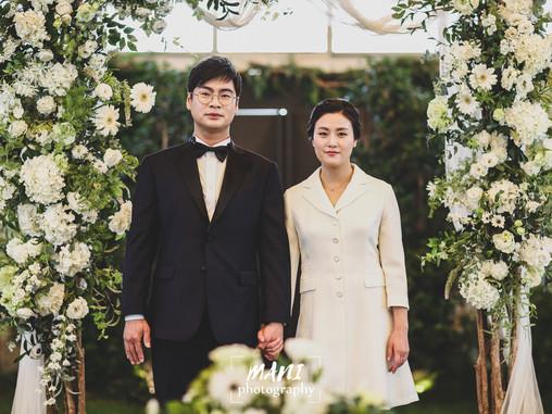 결혼식의 상식을 뒤엎다?