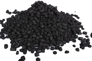 charbon actif en granulé